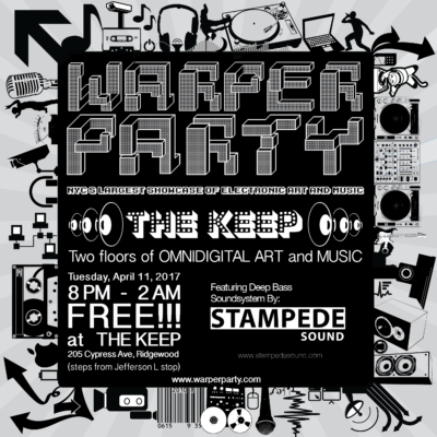 Warper Party at The Keep